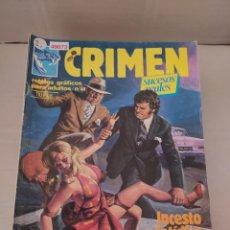 Cómics: 49073 - CRIMEN - EL MARSELLE - INCESTO FASTIDIO - Nº 44 - EDICIONES ZINCO - AÑO 1984. Lote 262204260