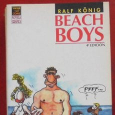 Cómics: BEACH BOYS 4ª EDICIÓN. RALF KÖNIG. Lote 262665680