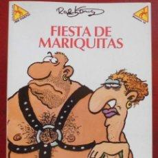 Cómics: FIESTA DE MARIQUITAS RALF KÖNIG. Lote 262666295