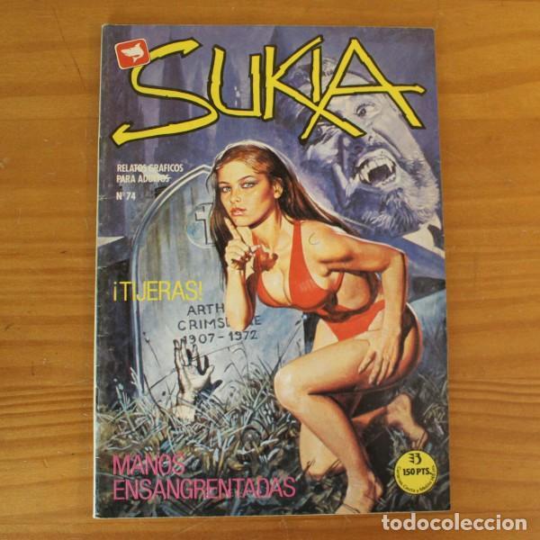 SUKIA 74 TIJERAS / WALLESTEIN MANOS ENSANGRENTADAS. EDICIONES ZINCO (Coleccionismo para Adultos - Comics)