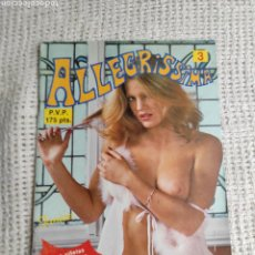 Comics: ALLEGRISSIMA Nº 3 HUMOR GRAFICO Y FOTOS DE CHICAS. Lote 268768064