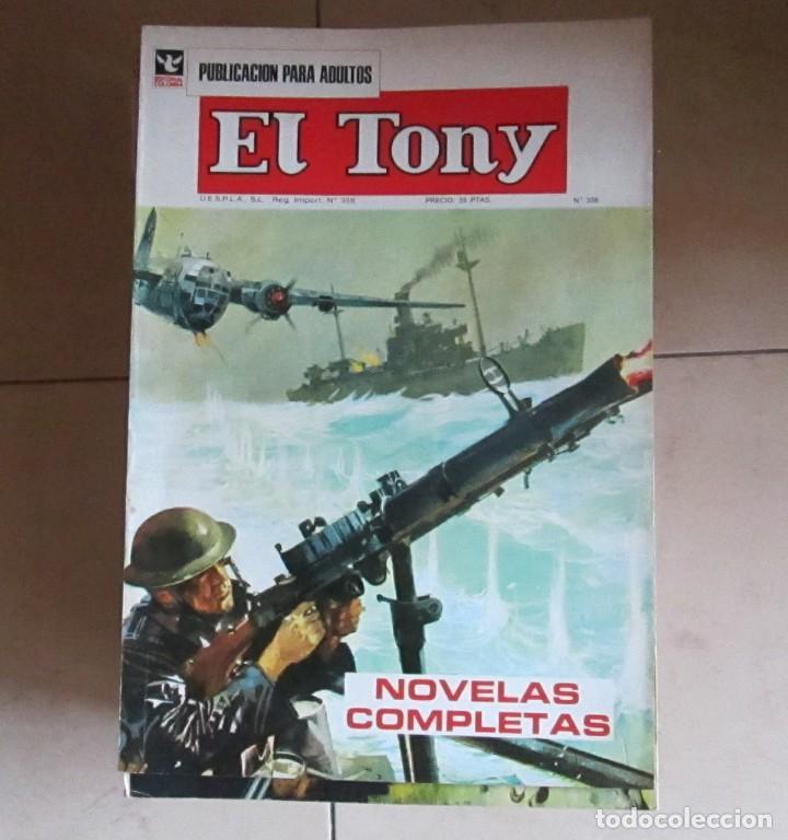 FANTASIA - D'ARTAGNAN - EL TONY (EDITORIAL COLUMBA) LOTE DE 31 COMICS (Coleccionismo para Adultos - Comics)