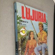 Cómics: LUJURÍA ÁLBUM Nº 16: SUPEX XX, SEX PARTY / RELATOS GRÁFICOS PARA ADULTOS - ASTRI. Lote 270687448