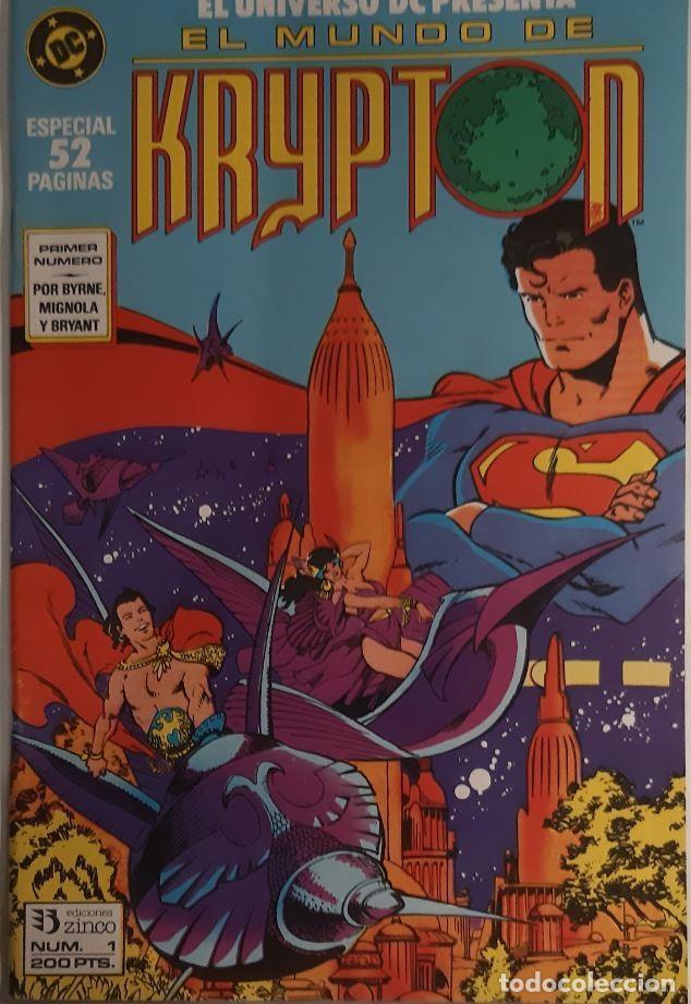 Cómics: COMICS NUMEROS 1 DE EDICIONES ZINCO, 9 EJEMPLARES - Foto 3 - 274917283