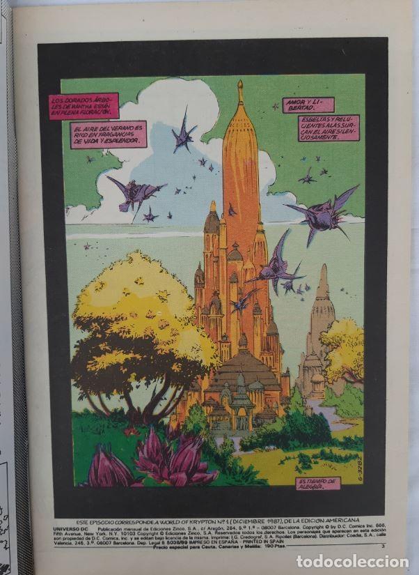 Cómics: COMICS NUMEROS 1 DE EDICIONES ZINCO, 9 EJEMPLARES - Foto 4 - 274917283