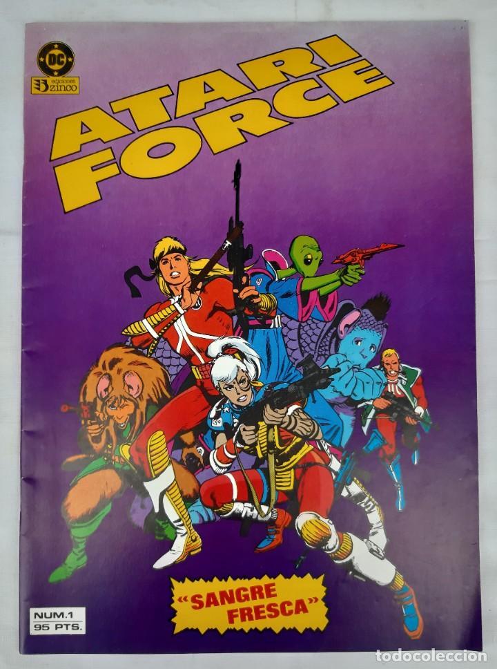 Cómics: COMICS NUMEROS 1 DE EDICIONES ZINCO, 9 EJEMPLARES - Foto 5 - 274917283
