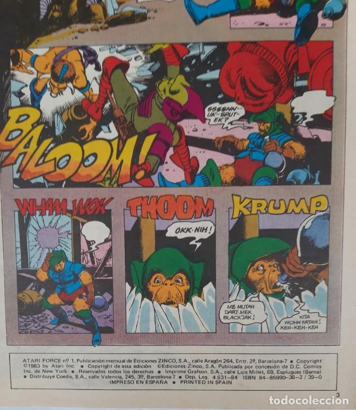 Cómics: COMICS NUMEROS 1 DE EDICIONES ZINCO, 9 EJEMPLARES - Foto 6 - 274917283