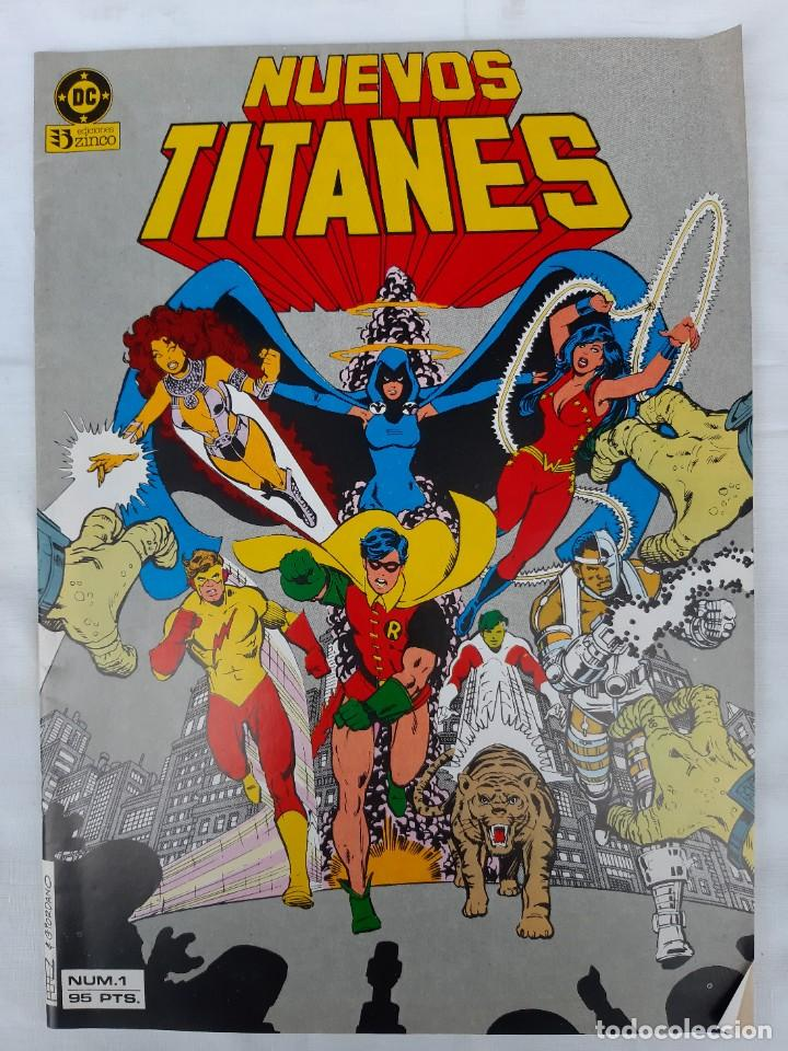 Cómics: COMICS NUMEROS 1 DE EDICIONES ZINCO, 9 EJEMPLARES - Foto 7 - 274917283