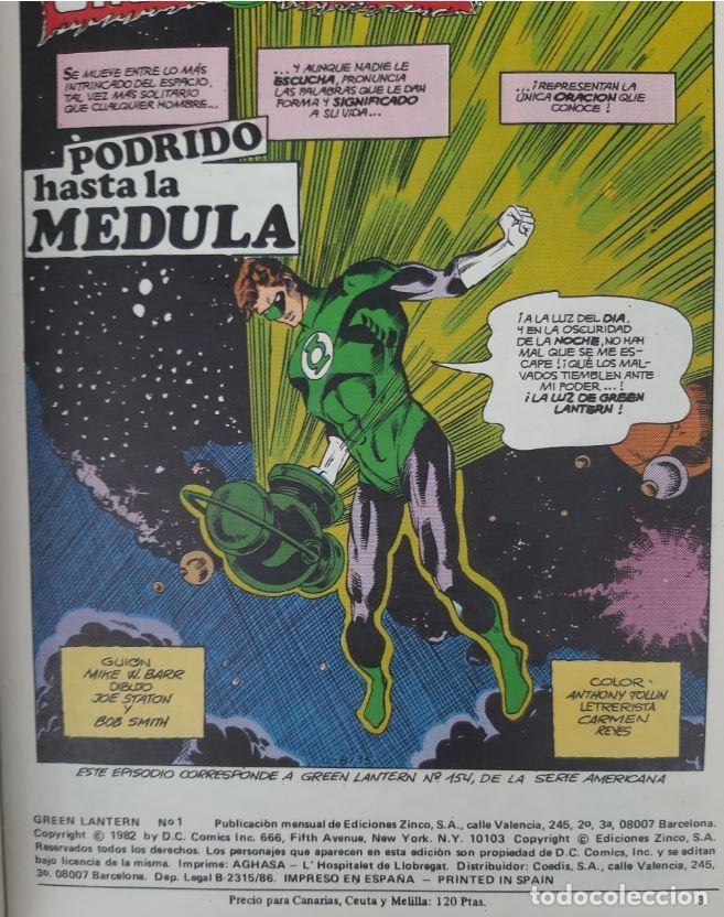 Cómics: COMICS NUMEROS 1 DE EDICIONES ZINCO, 9 EJEMPLARES - Foto 10 - 274917283
