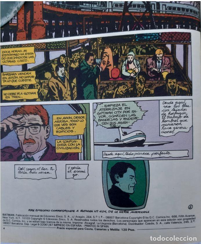 Cómics: COMICS NUMEROS 1 DE EDICIONES ZINCO, 9 EJEMPLARES - Foto 11 - 274917283