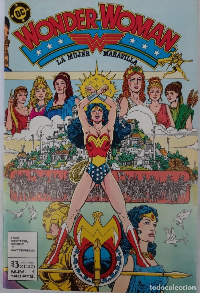 Cómics: COMICS NUMEROS 1 DE EDICIONES ZINCO, 9 EJEMPLARES - Foto 13 - 274917283