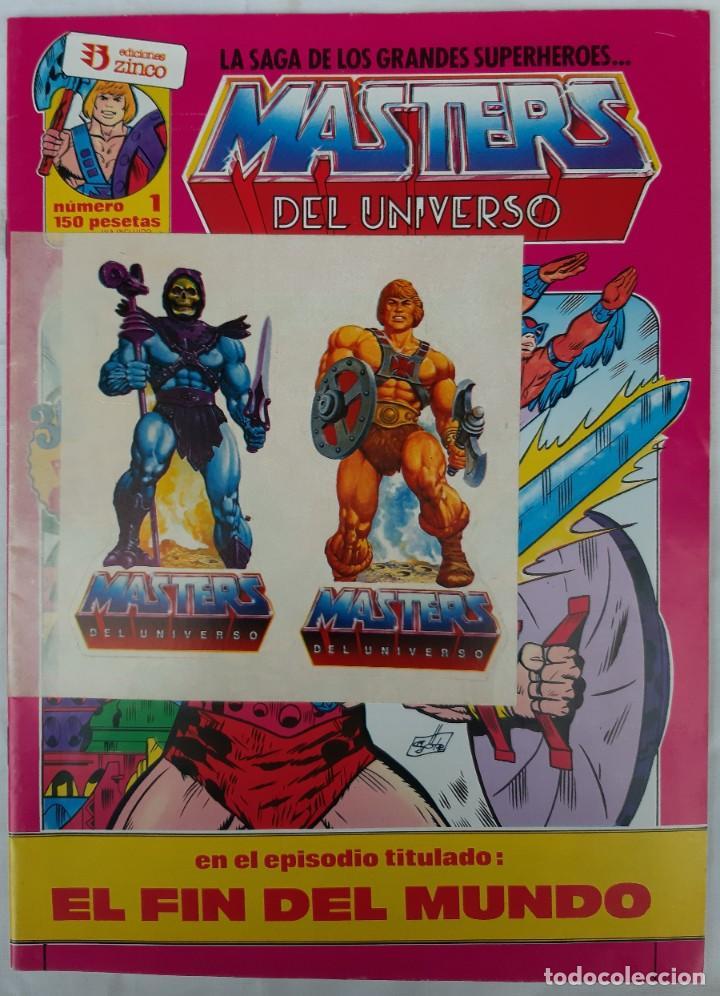 Cómics: COMICS NUMEROS 1 DE EDICIONES ZINCO, 9 EJEMPLARES - Foto 17 - 274917283