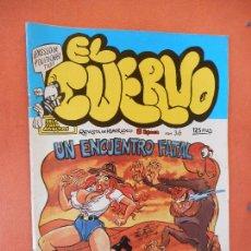 Comics: UN ENCUENTRO FATAL. NUM 36. EL CUERVO. REVISTA DE HUMOR LOCO. EDICIONES AMAIKA, S.A.. Lote 275035753