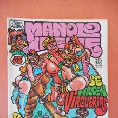 Comics: SE HACEN VIRGUERIAS. NUM 55. EL CUERVO. REVISTA DE HUMOR LOCO. EDICIONES AMAIKA, S.A.. Lote 275035858