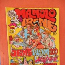 Comics: LA MADAM RELAXIS. NUM 32. EL CUERVO. REVISTA DE HUMOR LOCO. EDICIONES AMAIKA, S.A.. Lote 275036078