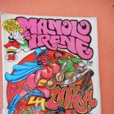 Comics: LA ZORRA. NUM 18. EL CUERVO. REVISTA DE HUMOR LOCO. EDICIONES AMAIKA, S.A.. Lote 275036163