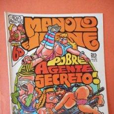 Comics: POBRE AGENTE SECRETO!. NUM 60. EL CUERVO. REVISTA DE HUMOR LOCO. EDICIONES AMAIKA, S.A.. Lote 275036268