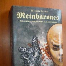 Comics: LA CASTA DE LOS METABARONES / ALEJANDRO JODOROWSKI & JUAN GIMÉNEZ. Lote 275151703