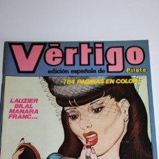 Fumetti: VERTIGO - EDICION ESPAÑOLA DE PILOTE Nº 3 - SOLO PARA ADULTOS. Lote 275203493