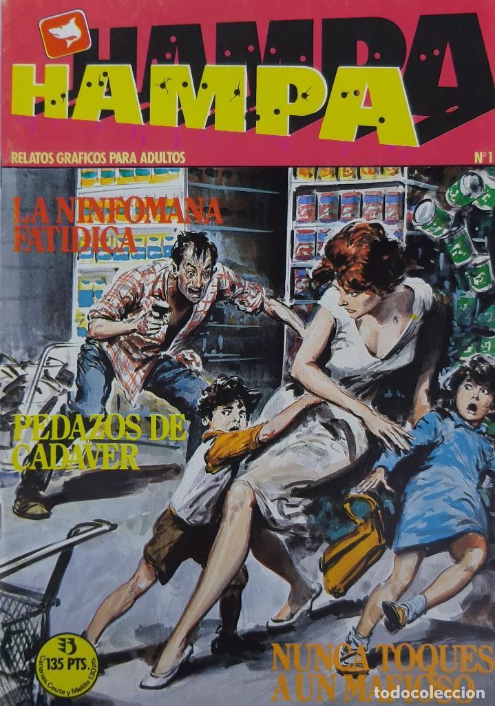 COMICS NUMEROS 1 DE EDICIONES ZINCO, 10 EJEMPLARES (Coleccionismo para Adultos - Comics)