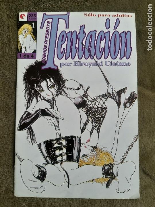 REVISTA TENTACION (Coleccionismo para Adultos - Comics)