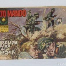 Cómics: COMIC COLECCION ALTO MANDO Nº 11 DEL AÑO I Y Nº 50 DEL AÑO II. Lote 286780728