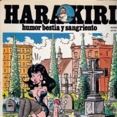 Cómics: HARA KIRI / HARA-KIRI - EXTRA 15 - CONTIENE Nº 70 - 71 - 72 Y 73 - AMAIKA, S. A. / IRU, S. A. -. Lote 289715403