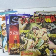 Cómics: COMICS ERÓTICOS. LOTE DE 25 EJEMPLARES: CRIMEN, HORROR, SUKIA, TENTETIESO.... Lote 291854523
