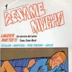Cómics: BESAME MUCHO Nº 1 - PRODUCCIONES EDITORIALES - SUB01M. Lote 292373923