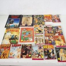 Cómics: LOTE DE TEBEOS O COMICS A CLASIFICAR, 19 UNIDADES, PINCANTES O ERÓTICOS. Lote 292612818
