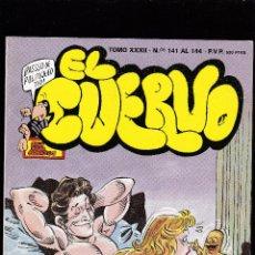 Fumetti: EL CUERVO - TOMO XXXI - Nº 141 - 142 - 143 Y 144 - HUMOR EROTICO PARA ADULTOS - IRU S.A -. Lote 292956543