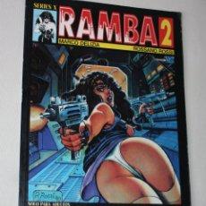 Cómics: RAMBA ( MARCO DELIZIA & ROSSANO ROSSI ) .TOMO 2 - SOLO PARA ADULTOS. Lote 295451348