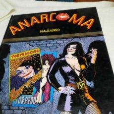 Cómics: ANARCOMA- NAZARIO, COMIC PARA ADULTOS. Lote 295619718