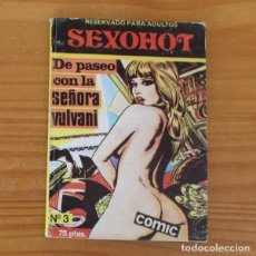 Cómics: SEXOHOT 3 DE PASEO CON LA SEÑORA VULVANI. E.S. EDITOR 1979. Lote 296763443