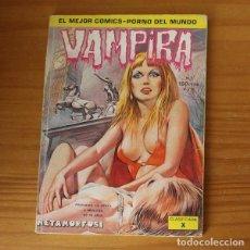 Cómics: VAMPIRA 1 METAMORFOSI. COMIC EROTICO. Lote 296763498