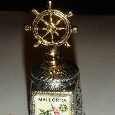 Coleccionismo de dedales: DEDAL METAL TIMON. MALLORCA. SERIE CIUDADES.. Lote 8422244