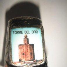 Coleccionismo de dedales: DEDAL METAL TORRE DEL ORO. SERIE MONUMENTOS. Lote 9914618