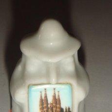 Coleccionismo de dedales: DEDAL CERAMICA BARCELONA. Lote 26164614