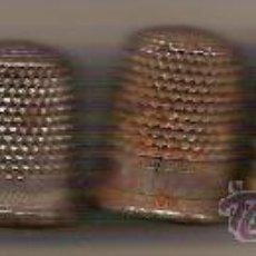 Coleccionismo de dedales: 7 DEDALES METALICOS DISTINTOS TAMAÑOS. Lote 28302677