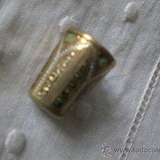 Coleccionismo de dedales: DEDAL METAL LABRADO-. Lote 35722432