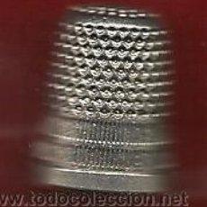 Coleccionismo de dedales: PEQUEÑO DEDAL PLATEADO. Lote 36376642