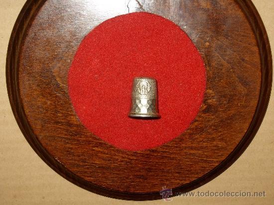 Coleccionismo de dedales: DEDAL DE PLATA DE LA VIRGEN DEL PILAR.COLECCION - Foto 2 - 38649214