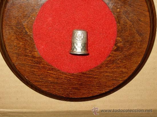 Coleccionismo de dedales: DEDAL DE PLATA DE LA VIRGEN DEL PILAR.COLECCION - Foto 3 - 38649214