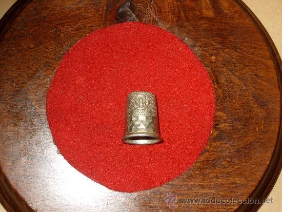 Coleccionismo de dedales: DEDAL DE PLATA DE LA VIRGEN DEL PILAR.COLECCION - Foto 4 - 38649214