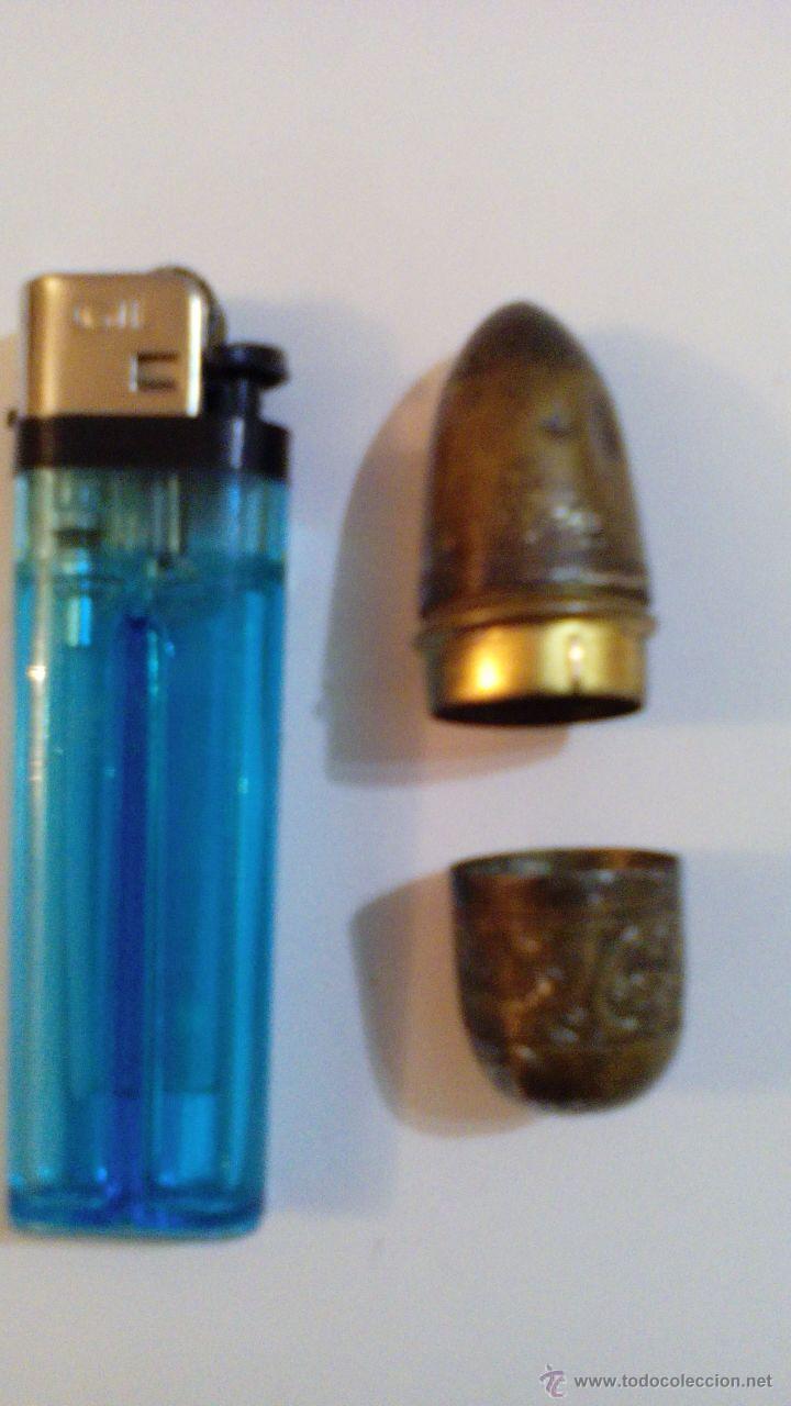 Coleccionismo de dedales: ALFILETERO DEDAL ANTIGUO EN METAL PLATEADO - Foto 2 - 47850450
