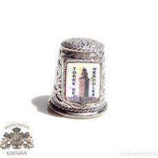 Coleccionismo de dedales: DEDAL CON TORRE HERCULES CORUÑA. Lote 87532612