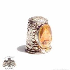 Coleccionismo de dedales: DEDAL CON VIRGEN DE PACIENCIA. Lote 87533280