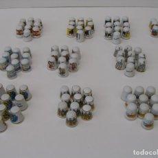 Coleccionismo de dedales: LOTE DE 100 DEDALES NUEVOS. - DEDAL DE PORCELANA DE COLECCION -. Lote 90540855
