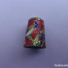 Coleccionismo de dedales: DEDAL ESMALTADO. Lote 124213503