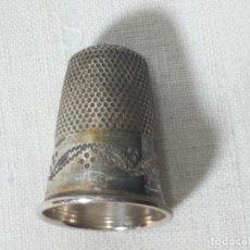 Coleccionismo de dedales: DEDAL PLATA DE LEY , COLECCION. Lote 128544871